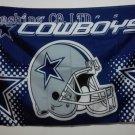 Dallas Cowboys Helmet Flying Flag Banner flag 3ft x 5ft 100D Polyester 90x150cm