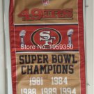San Francisco 49ers champions ship flag NFL 150x90cm