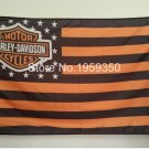 motor cycles flag 3ftx5ft Banner 100D Polyester Flag metal Grommets 90x150cm