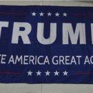 Trump flag make america great again 3ftx5ft Banner 100D Polyester Flag metal Grommets 90x150cm