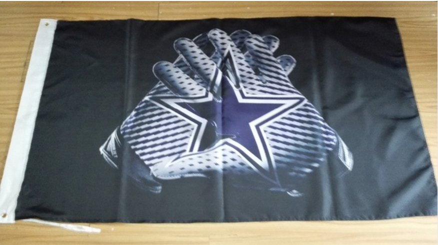 Cowboys Glove 3x5 ft flag 100D Polyester flag 90x150cm
