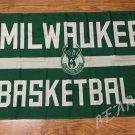 Milwaukee Bucks basketball Flag 3FTx5FT Banner 100D Polyester flag 90x150cm