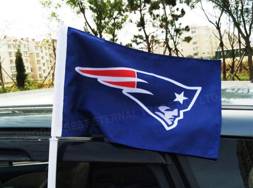 BEST FLAG -NFL New England Patriots car flag