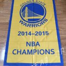 Golden State Warriors World Champions Flag 3ft x 5ft Polyester NBA Banner flag style 1