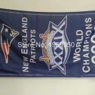 New England Patriots world champions 2004 Flag 3ft x 5ft Polyester banner