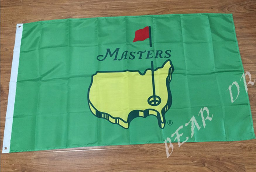 masters flag 3ftx5ft Banner 100D Polyester Flag metal Grommets 90x150cm style 2