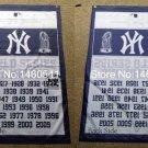 New York Yankees world seres champions flag MLB 3ftx5ft Banner 100D Polyester