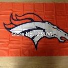 Denver Broncos Flag 3ft x 5ft Polyester Denver Broncos Banner flag