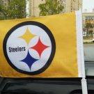 BEST FLAG -NFL Pittsburg Steelers car flag