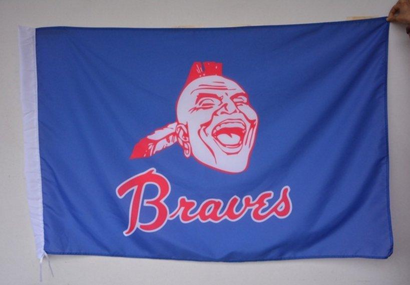 MLB Atlanta Braves custom sports flag, size 3x5FT baseball team banner