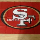 San Francisco 49ers Flag 3FTx5FT Banner 100D Polyester flag