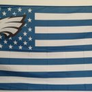 Philadelphia Eagles Flag with Star and Stripe 3ftx5ft Banner 100D Polyester Flag Brass Grommet