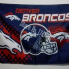 Denver Broncos Helmet Flying Flag Banner flag 3ft x 5ft 100D Polyester 90x150cm