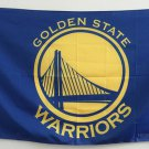 Golden State Warriors Flag 3x5 FT 150X90CM Banner 100D Polyester 90*150cm