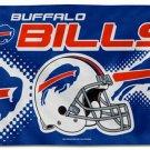 Buffalo Bills Helmet Flying Flag Banner flag 3ft x 5ft 100D Polyester 90x150cm