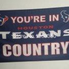 Houston Texans Custom Your Text Flag 3ft x 5ft Polyester Team Banner flag