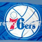 Philadelphia 76ers Flag 3ft x 5ft Polyester NBA Banner Custom flag
