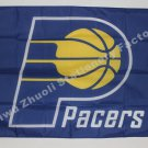 Indiana Pacers Flag 3ft x 5ft Polyester NBA Banner Custom flag
