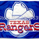 MLB Texas Rangers Large Outdoor 3x5 Banner Flag