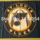 St Louis Blues Logo Flag 3ftx5ft Banner 100D Polyester NHL Flag style 1