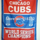 Chicago Cubs World Series Champions Flag 3ft x 5ft Polyester MLB flag