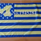Michigan Wolverines logo with starts and stripes Flag 3ft x 5ft Polyester 90x150cm style 1