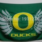 Oregon Ducks logo Flag 3FTx5FT Banner 100D Polyester flag 90x150cm NCAA