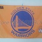 Golden State Warriors big logo Flag yellow blackground 3x5 FT 150X90CM