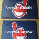 MLB Cleveland Indians Flag 3x5 FT 150X90CM Banner 100D Polyester flag