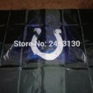 Indianapolis Colts 2 Gloves 3x5 ft flag 100D Polyester flag 90x150cm