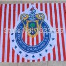 Chivas Guadalajara flag 3ftx5ft 100D Polyester Flag metal Grommets 90x150cm