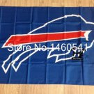 Buffalo Bills Large Outdoor 3 x 5FT 100D polyester Banner Flag 90x150cm