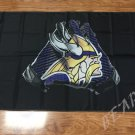 Minnesota Vikings 2 Gloves 3x5 ft flag 100D Polyester flag 90x150cm