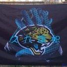 Jacksonville Jaguars 2 Gloves 3x5 ft flag 100D Polyester flag 90x150cm