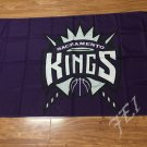 Sacramento Kings big logo Flag 3x5 FT 150X90CM Banner 100D Polyester flag