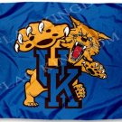 University of Kentucky Wildcats Flag NCAA 3ft x 5ft Polyester Banner 90x150cm