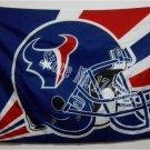 Houston Texans Helmet Lighting Flag 3ft x 5ft Polyester Banner flag