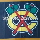 Chicago Blackhawks Flag 3ftx5ft Banner 100D Polyester NHL Flag style 3