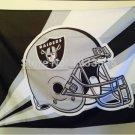 Oakland Raiders Helmet Lighting Flag 3ft x 5ft Polyester Banner flag