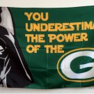 Green Bay Packers star wars flag 3ftx5ft Banner 100D Polyester Flag metal Grommets