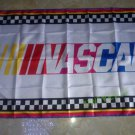 NASCAR logo 3ftx5ft Banner 100D Polyester Flag metal Grommets 90x150cm
