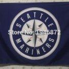 Seattle Mariners Flag 3ft x 5ft Polyester MLB Custom flag