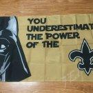 New Orleans Saints star wars flag 3ftx5ft Banner 100D Polyester Flag metal Grommets
