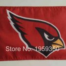 Arizona Cardinals car flag 12x18inches 30x45cm double sided 100D Polyester
