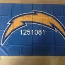 San Diego Chargers Flag 3ft x 5ft Polyeste Banner flag 90x150cm metal grommets
