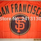 San Francisco Giants Flag 3ft x 5ft Polyester MLB Team Banner Flying flag