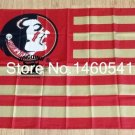 Florida State Seminoles with Modified US Flag 3ft x 5ft Polyester NCAA banner