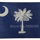 3'x5' Ft South Carolina State SC Polyester Flag Brass Grommets Indoor American