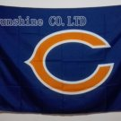 Chicago Bears Large Outdoor 3 x 5 Banner Flag 90x150cm 2 metal grommets