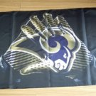 St. Louis Rams 2 Gloves 3x5 ft flag 100D Polyester flag 90x150cm